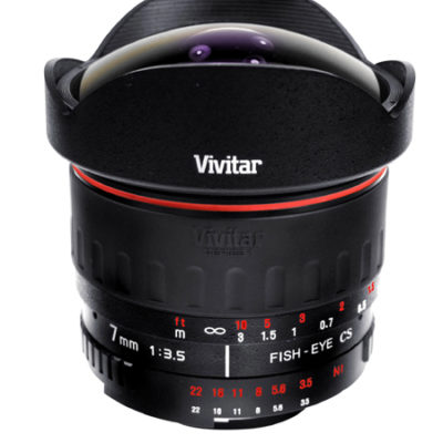 vivitar fisheye 7MM 3