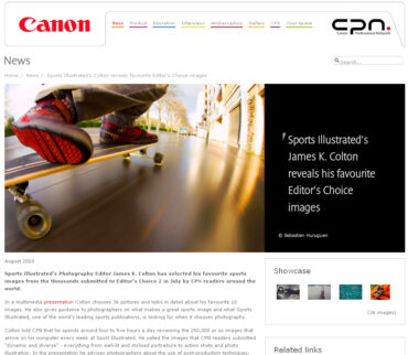 Canon CPN Editor's Choice 2 – Sports
