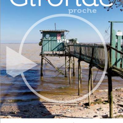 Couverture du supplement du magazine du conseil general departemental de la Gironde n102 Sebastien Huruguen