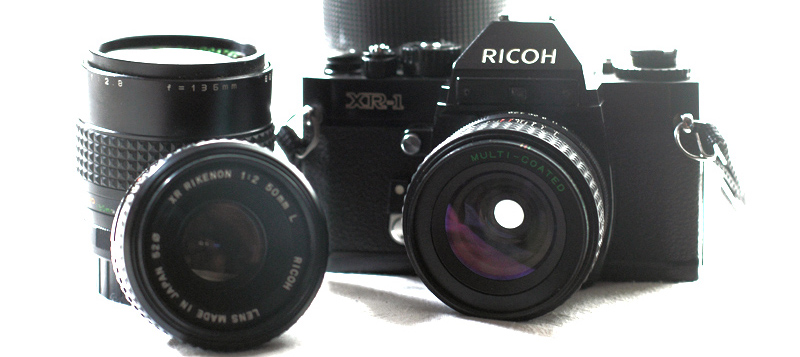 Appareil photo argentique 24x36 Ricoh photographie old school