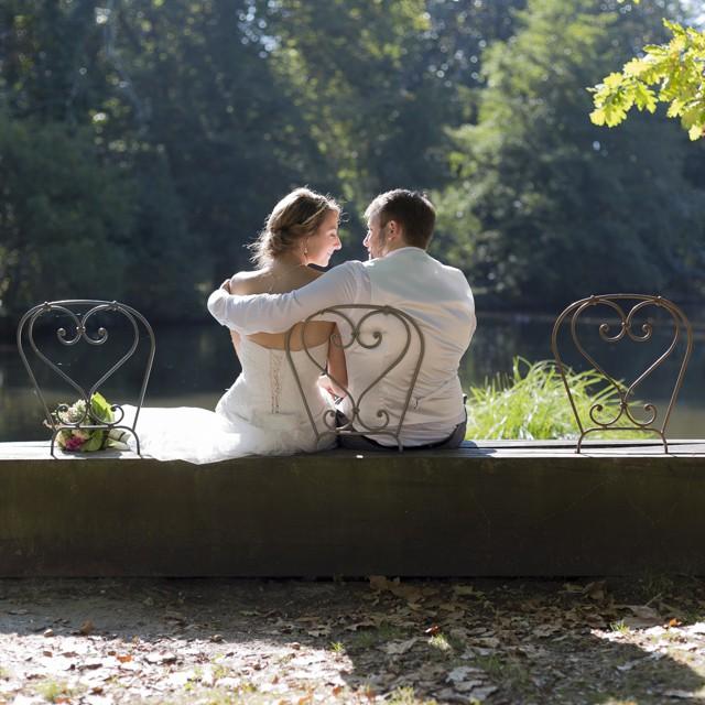 Mariage de Margaux & Nicolas, séance Trash the Dress au parc Majolan de Blanquefort. Photo  www.huruguen.fr #mariage #wedding #bordeaux #blanquefort #majolan #mariés #couple #love #amour #huruguen