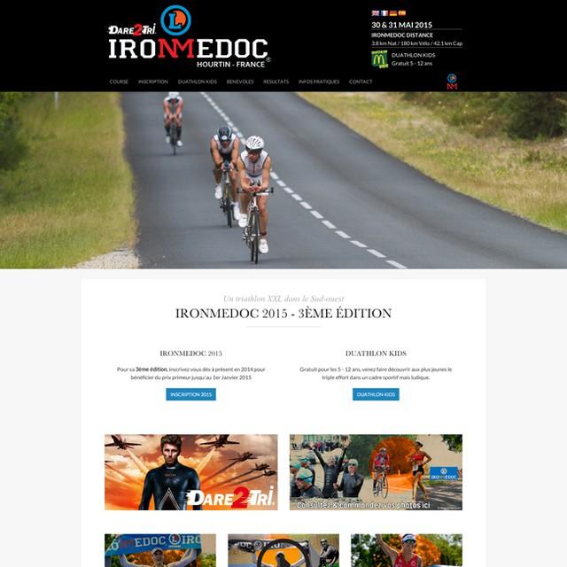 La 3ème édition de l'IronMedoc, c'est dans 6 mois seulement ! J'espère que vous avez bien avancé sur votre préparation physique... En attendant pensez déjà à vous inscrire en visitant le nouveau site internet : www.ironmedoc.com #ironman #ironmedoc #hourtin #sport #gironde #triathlon #triathlonXXL #huruguen #photographies #natation #marathon #180km #bike #velo #cyclisme #leclerc #lesparre