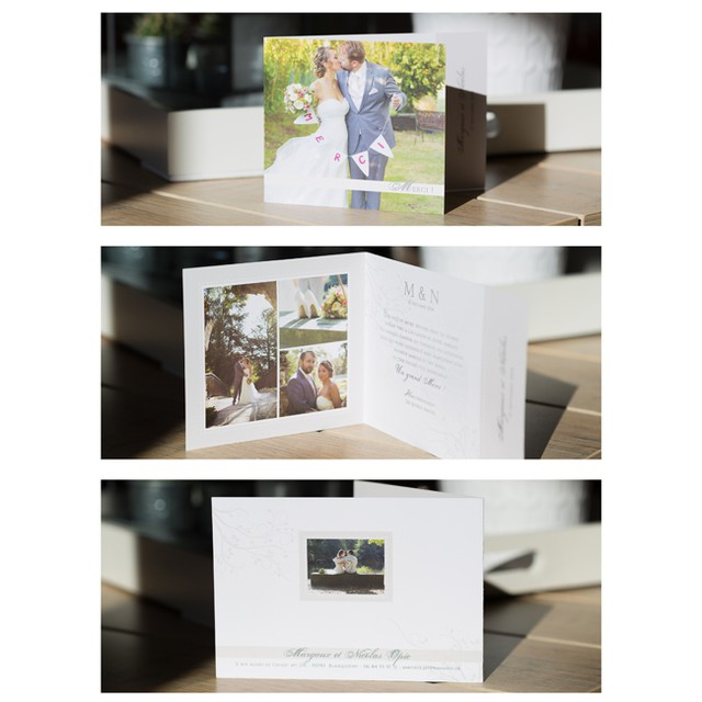 La surprise du matin ! Ca fait plaisir de recevoir une si belle carte de remerciement ! Une nouvelle fois, c'était un plaisir de réaliser ces photos ensemble, vous êtes les plus beaux !! Merci Margaux & Nicolas ! #rermerciements #faire-part #mariage #carterie #photosdemariage #huruguen #merci #thankyou