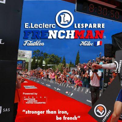 Triathlon-Frenchman-IronMedoc-2015-sebastien-huruguen-arrivee-finish-first-attila-szabo