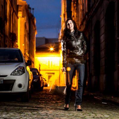 sebastien huruguen photographe pro bordeaux chartrons paves rue nuit fashion