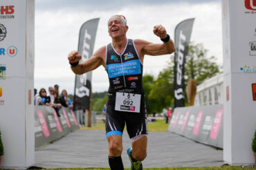 Pascal Greget (Biscarosse Olympique Triathlon) finisheur du Scott Half Triathlon - Lacanau Tri Events 2016 | Sébastien Huruguen www.huruguen.fr