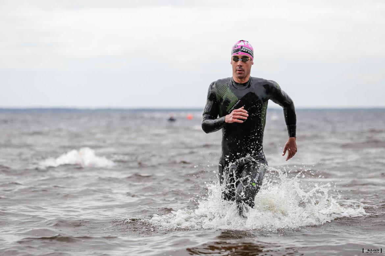 Boucle à l'australienne de la natation du Scott Half Triathlon - Lacanau Tri Events 2016 | Sébastien Huruguen www.huruguen.fr