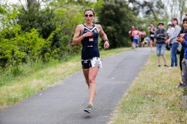 Manon Genet sur le semi marathon du Scott Half Triathlon - Lacanau Tri Events 2016 | Sébastien Huruguen www.huruguen.fr
