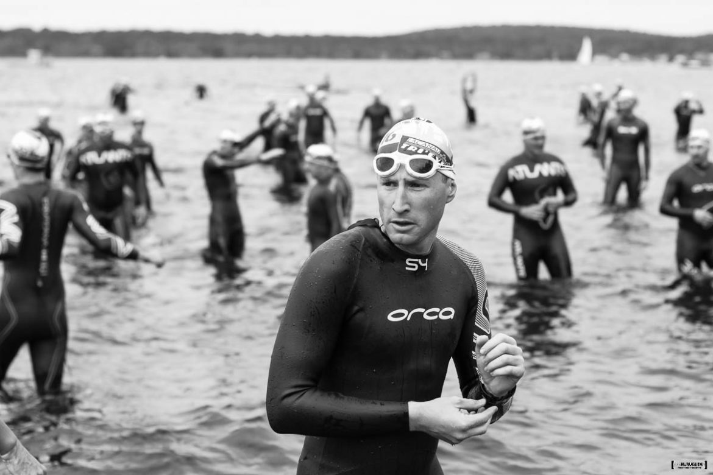 Portrait d'un triathlète au départ du Scott Half Triathlon - Lacanau Tri Events 2016 | Sébastien Huruguen www.huruguen.fr