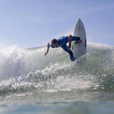 Maxime Huscenot backside surfing Hossegor - Quik Pro France 2016 | Sebastien Huruguen www.huruguen.fr