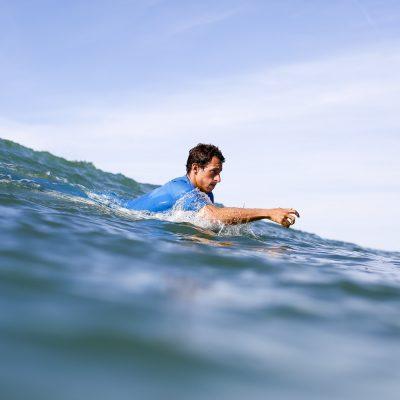Portrait of french surfer Maxime Huscenot from reunion island in Hossegor - Quik Pro France 2016 | Sebastien Huruguen www.huruguen.fr