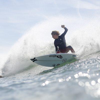 Sam Piter Hurley team rider surfer Nike cut back in Hossegor - Quik Pro France 2016 | Sebastien Huruguen www.huruguen.fr