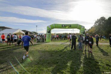 la plaine des sports de saint jean d'illac accueille le départ du trail en jalle