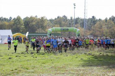 départ du 7km et 15km trail en Jalle 2015