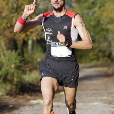 Ludovic Pollet vainqueur de l'edition 2015 du Trail en Jalle 2015