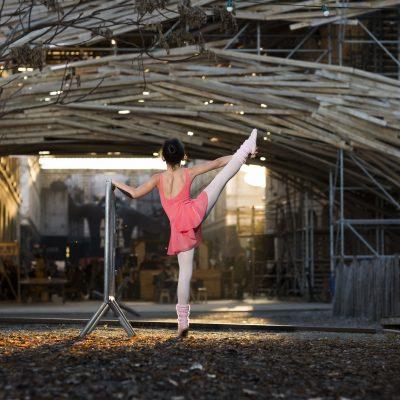 ballerine a Darwin Bordeaux danseuse etoile