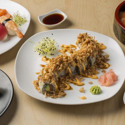 Menu carte d'un restaurant japonais à Bordeaux