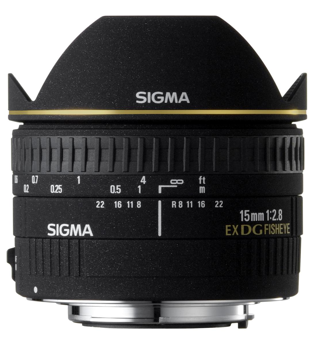 fisheye Sigma 15mm f2.8 EX DG