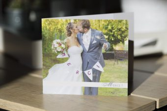 Carte de remerciement – Faire part Mariage