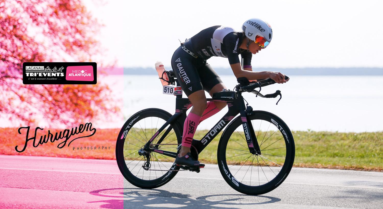 Les photos du Lacanau Tri'Events 2018 triathlon distance half et olympique en Gironde Sébastien Huruguen photographe