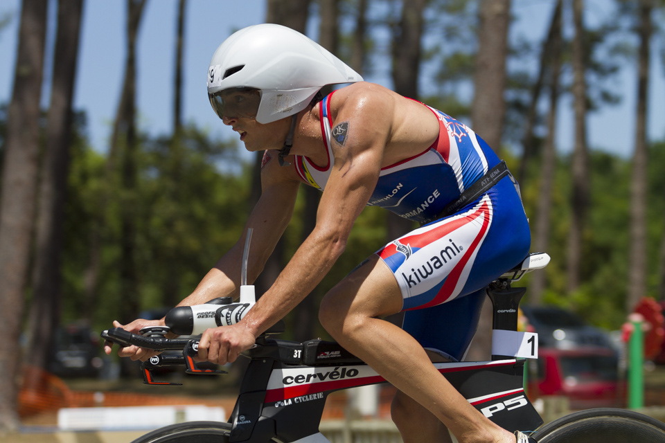 Anthony Costes Triathlon de Mimizan Sebastien Huruguen photographe bordeaux