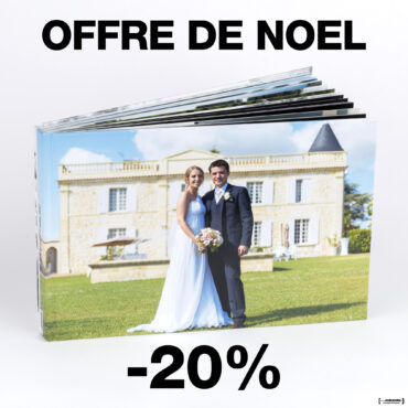 20% de réduction sur le Livre Album Photos de votre Mariage