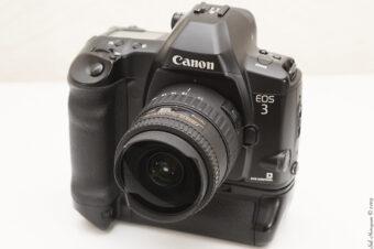 Test du boitier argentique professionnel Canon EOS 3